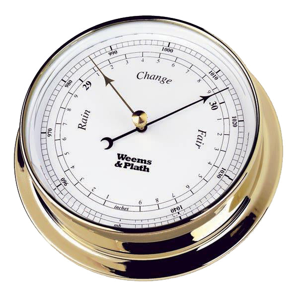 Endurance Brass Barometer 125mm by Weems & Plath