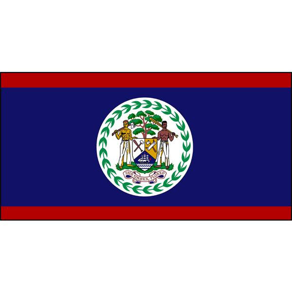 Belize Flag 1800 x 900mm