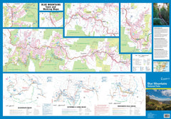 Blue Mountains Craigies Map