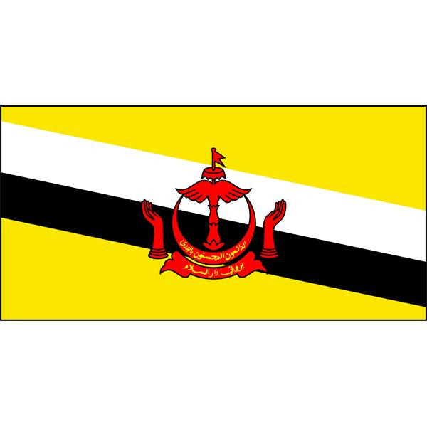 Brunei Flag 1800 x 900mm