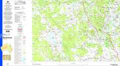 Buchanan SF55-06 Topographic Map 1:250k