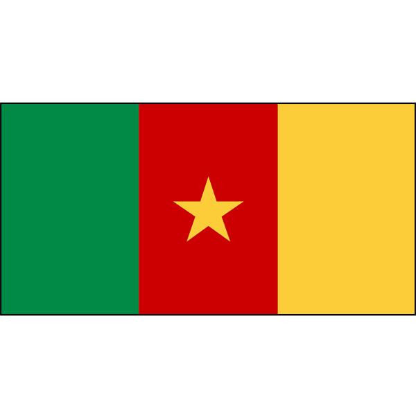 Cameroon Flag 1800 x 900mm