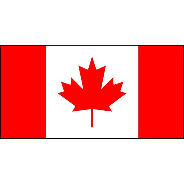 Canadian Flag 1800 x 900mm Buy Flag of Canada  Mapworld