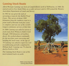 Canning Stock Route Westprint Map (New Edition 2019)
