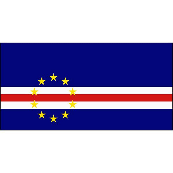 Cape Verde Flag 1800 x 900mm
