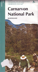 Carnarvon National Park Queensland Geoscience Map