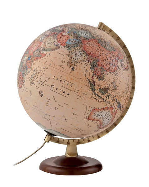 Classic A4 Antique Atmosphere Illuminated 30cm World Globe