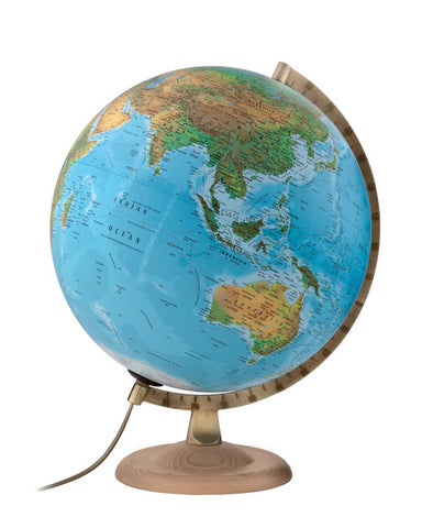World globes with free shipping australia wide mapworld classic b4 physical atmosphere illuminated 30cm globe gumiabroncs Image collections