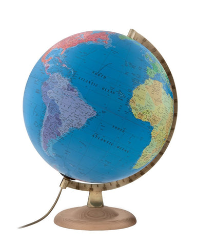 World globes with free shipping australia wide mapworld classic p4 political atmosphere illuminated 30cm globe gumiabroncs Image collections