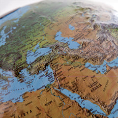 Classic R4 Relief Atmosphere Illuminated 30cm World Globe