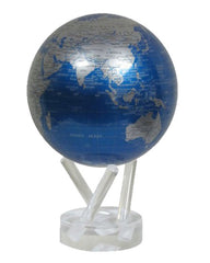 MOVA Globe Cobalt Blue and Metallic Silver - 4.5""