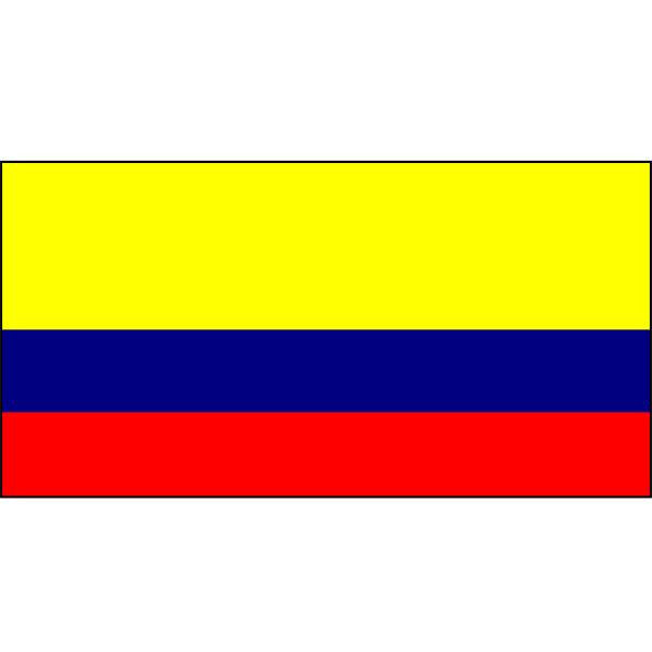 Colombia Flag 1800 x 900mm