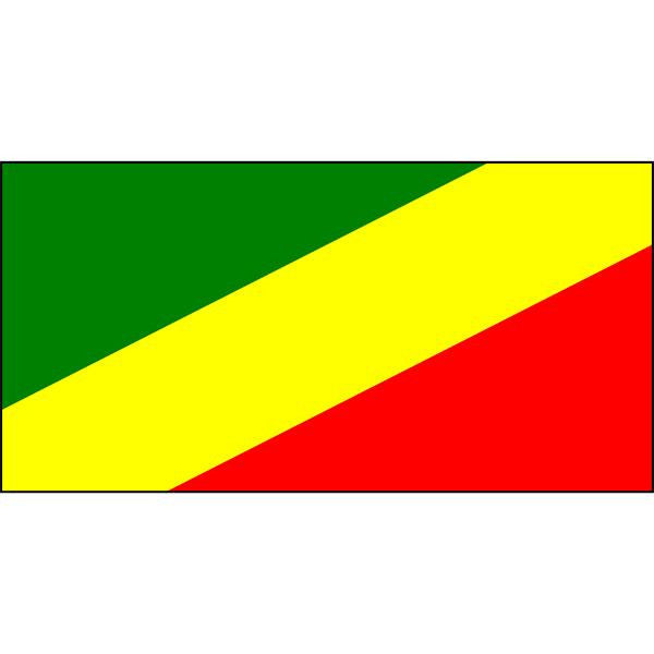 Congo (Republic of the) Flag 1800 x 900mm