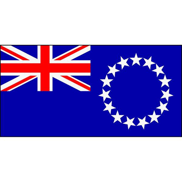 Cook Islands Flag 1800 x 900mm