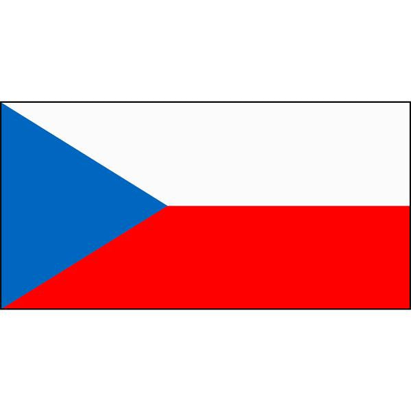 Czech Republic Flag 1800 x 900mm
