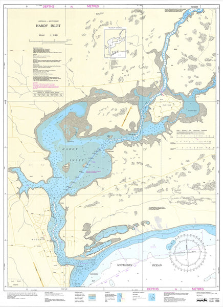 698 - Hardy Inlet DPI Chart