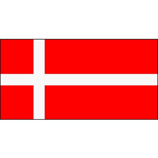 Denmark Flag 1800 x 900mm
