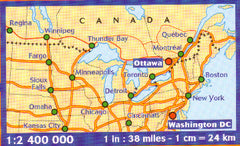 North Eastern USA Eastern Canada Michelin
