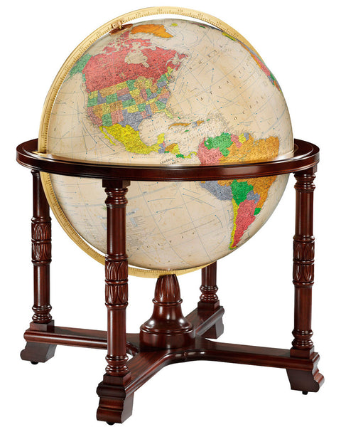 Diplomat Replogle Globe Antique