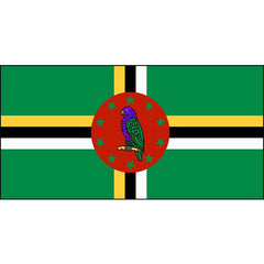 Dominica Flag 1800 x 900mm