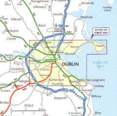 Dublin Streetfinder Collins Map