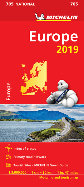 Europe Michelin Map