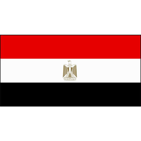 Egypt Flag 1800 x 900mm