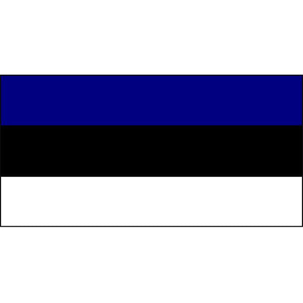 Estonia Flag 1800 x 900mm