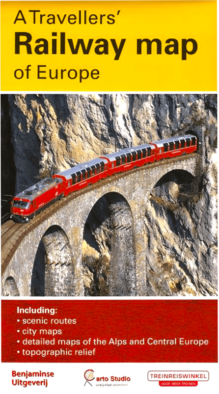 travellers railway map of europe Railway Map of Europe, Buy Maps of Europe  Mapworld