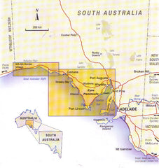 Eyre Peninsula Cartographics Map