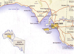 Fleurieu Peninsula Cartographics Map