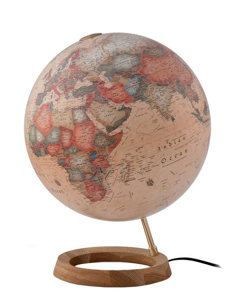 Full Circle FC1 Antique Atmosphere Illuminated 30cm Globe