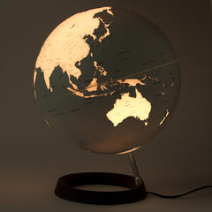 Full Circle Reflection Atmosphere Illuminated 30cm Globe