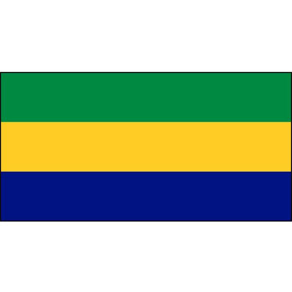 Gabon Flag 1800 x 900mm