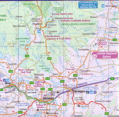 Gippsland Discovery & Wilsons Promontory UBD 386 Map
