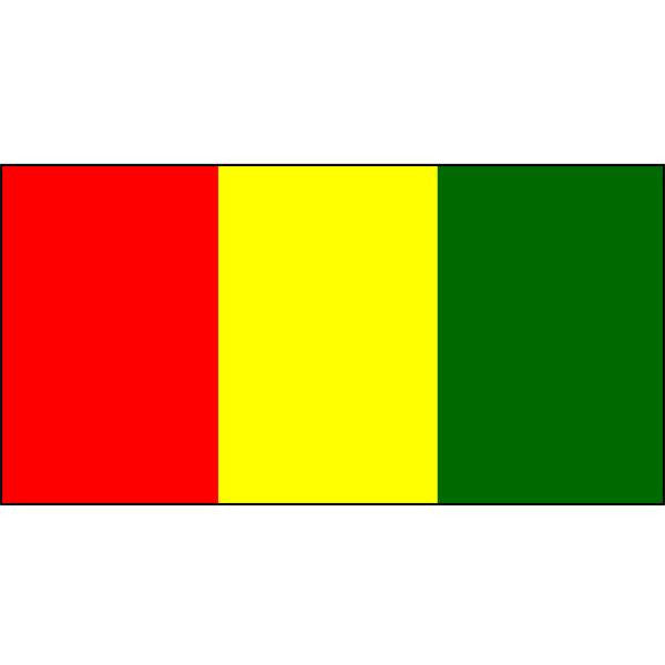 Guinea Flag 1800 x 900mm