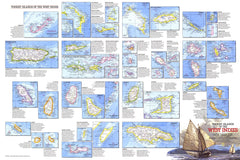 Tourist Islands of the West Indies - Published 1981 by National Geographic
