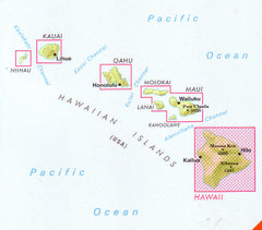 Hawaii The Big Island Nelles Map