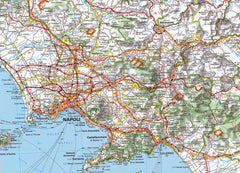 Italy South Map Michelin 564