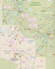 Innaminka & Coongie Lakes Map Westprint