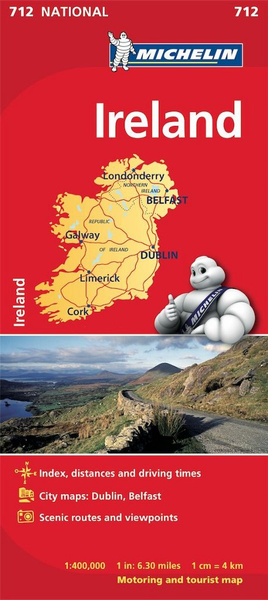 Ireland Michelin Map