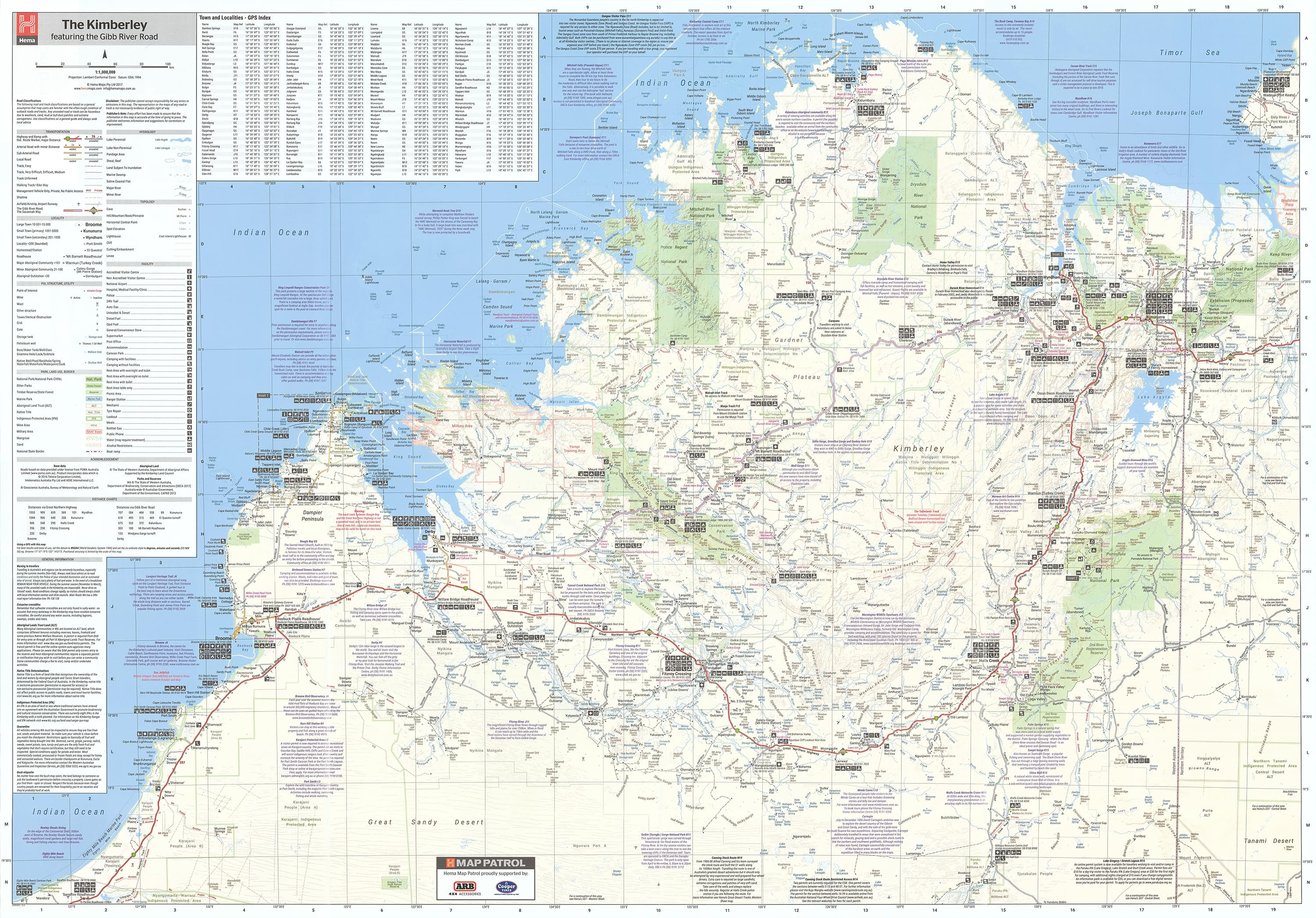 Kimberley Hema Map, Buy Map of Kimberley - Mapworld
