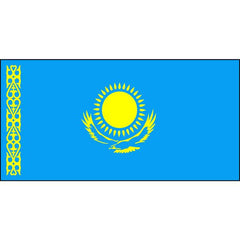 Kazakhstan Flag 1800 x 900mm