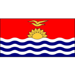 Kiribati Flag 1800 x 900mm