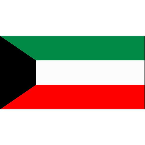 Kuwait Flag 1800 x 900mm