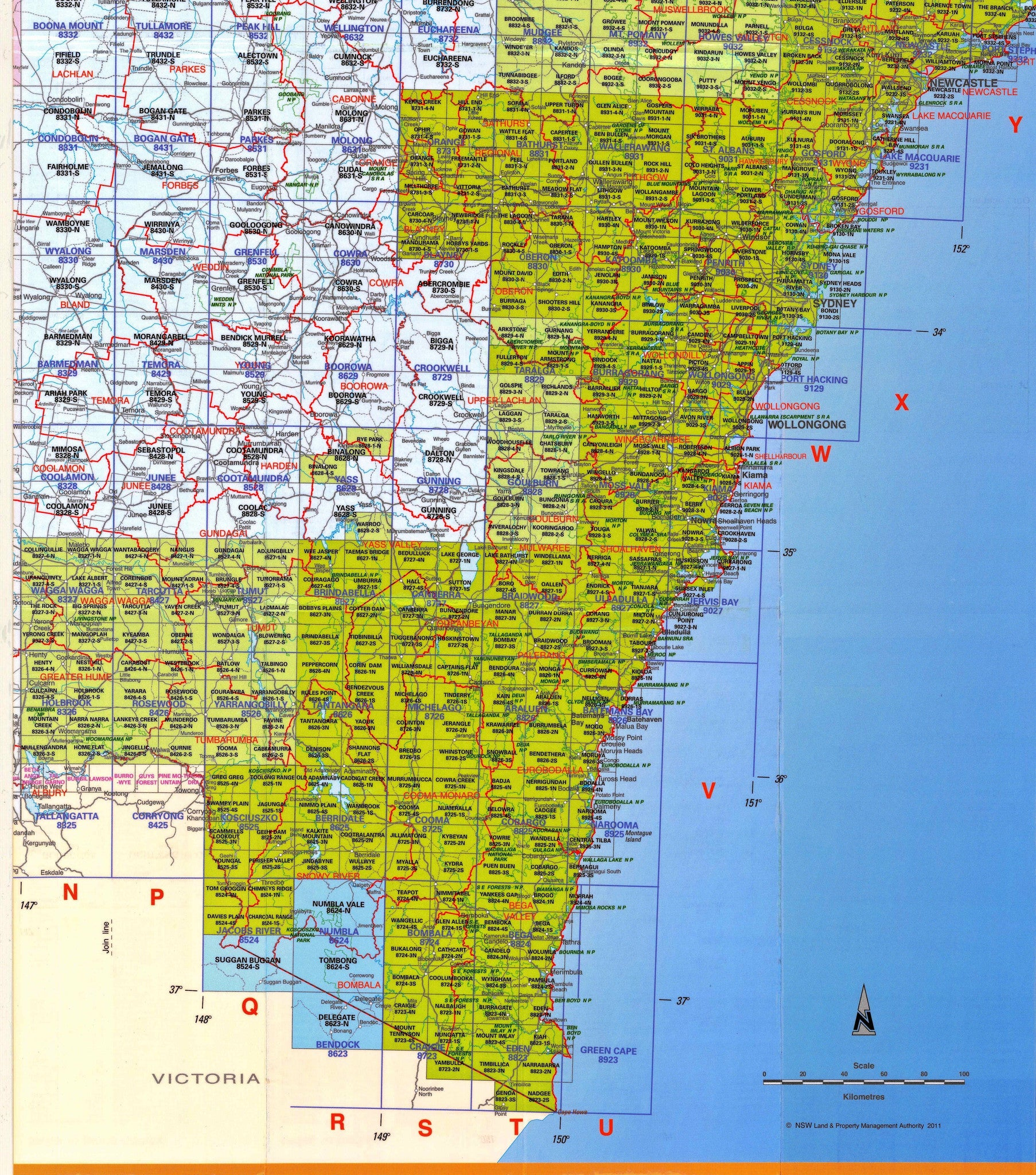 Topographic Maps Nsw Buy NSW Topographic Maps | Shop Mapworld