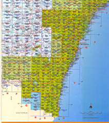 NSW 25k Maps Bukkulla - Craven