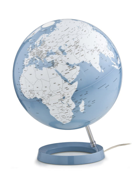 Light & Colour Azure Atmosphere Illuminated 30cm Globe
