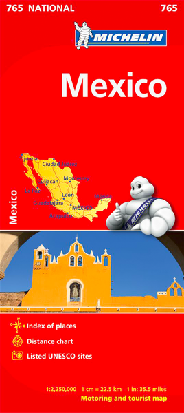 Mexico Michelin Map