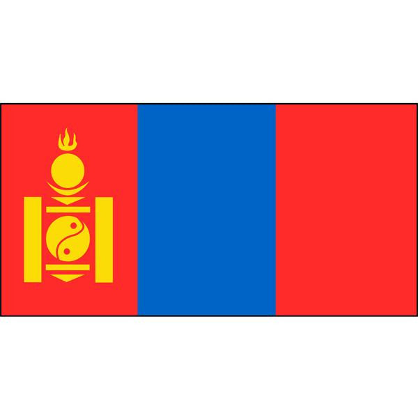 Mongolia Flag 1800 x 900mm